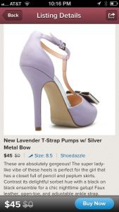 Image of a Shoedazzle Covershot on Poshmark Fashion App