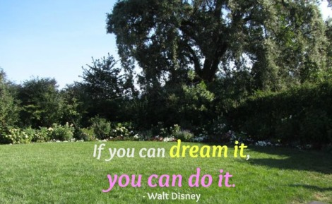 Image with quote by Walt Disney - If you can dream it, you can do it.