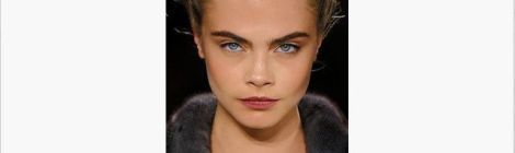 Image of model with big bold eyebrows