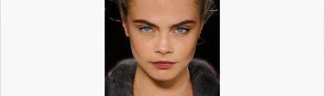 Image of model with big bold eyebrows