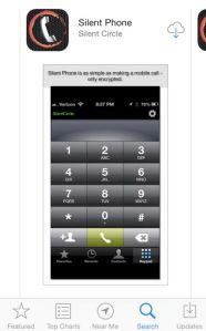 Image of Silent Circle Phone Screenshot