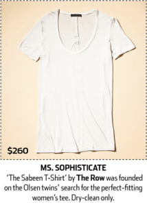 Image of a white cotton t-shirt