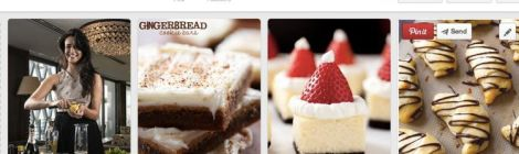 Image of delicious desserts and drinks for the Holidays