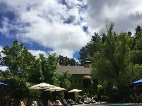 An image of a breathtaking view of the skyline poolside at Kenwood Spa