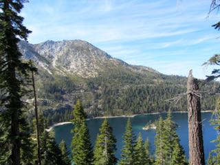 Image of beautiful Emerald Bay Lake Tahoe