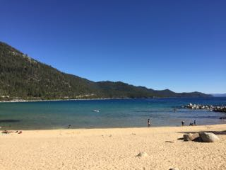 Image of Sand Harbor beach in Lake Tahoe