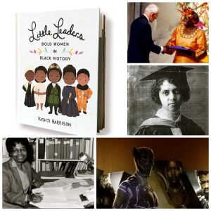 Collage of black women in history who have made significant contributions to the world
