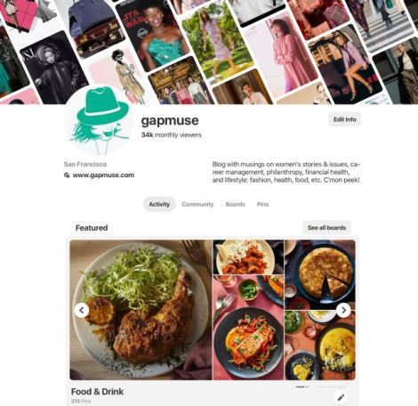 Image of gapmuse Pinterest Food & Drink board